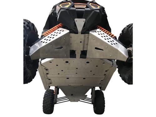 Can-Am Maverick X3 X RS - 10 Piece Complete Aluminum Skid Plate Set