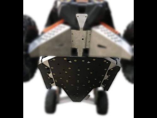 Can-Am Maverick X3 X RS - 6 Piece Full Frame Skid Plate Set