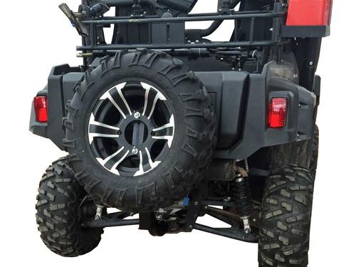 Quick Adjust Receiver Hitch Spare Tire Mount