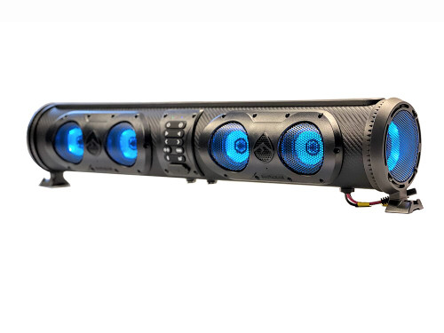 ECOXGEAR Amplified Bluetooth UTV Soundbar w/RGB Lighting
