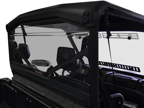 Can-Am Defender/Max Tinted Rear Windshield (GP) With Adjustable Vent
