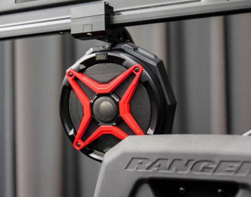Polaris Ranger 1000 Cage Mounted KICKER Speaker Pods