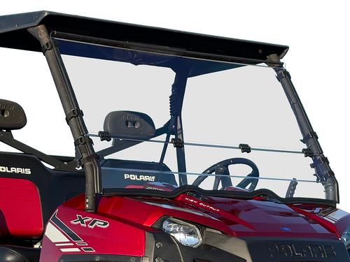 Polaris Ranger XP 800 Scratch Resistant Folding Windshield