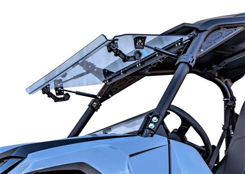 Yamaha Wolverine RMAX 1000 Scratch Resistant Flip Windshield