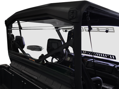 Can-Am Defender/Max Rear Windshield (GP) With Adjustable Vent