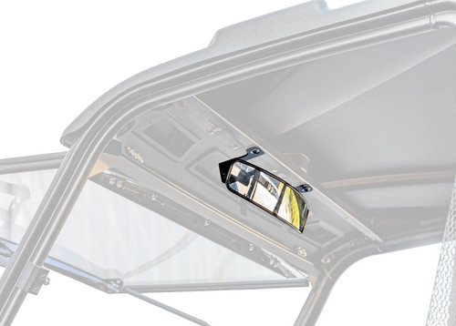 """Polaris 17"""" Curved Rear View Pro-Fit Mirror"""