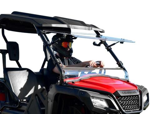 Honda Pioneer 520 Scratch Resistant Flip Windshield