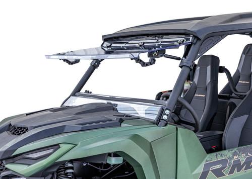 Yamaha Wolverine RMAX 4 Scratch Resistant Flip Windshield