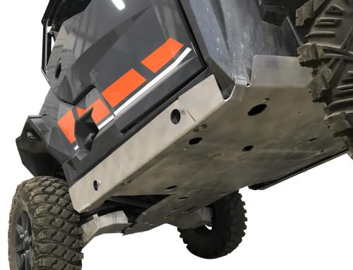 2 Piece Aluminum Polaris General XP 1000 Rock Sliders