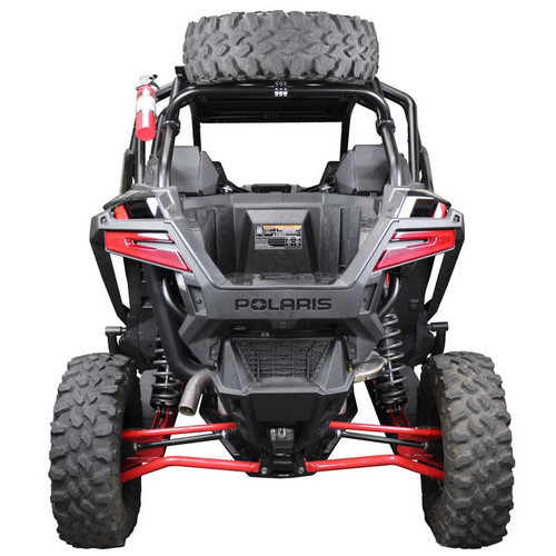 """Polaris RZR Pro XP """"Above The Roof"""" Dual Clamp Spare Tire Mount"""