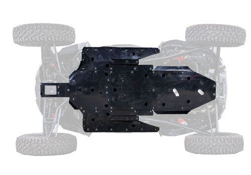 Polaris RZR XP Turbo S Full Skid Plate