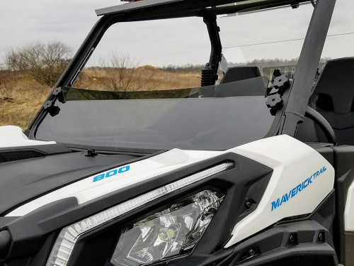 2021+ Can-Am Commander Tinted Half Windshield