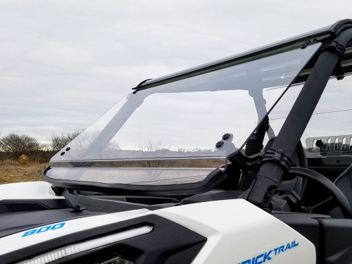 2021+ Can-Am Commander Scratch Resistant Tilting Windshield