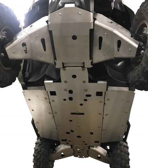Yamaha Wolverine RMAX 4 Complete Skid Plate Kit 9pc