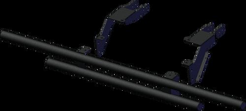2020+ Polaris Ranger 1000 Rear Tube Bumper (Non XP)