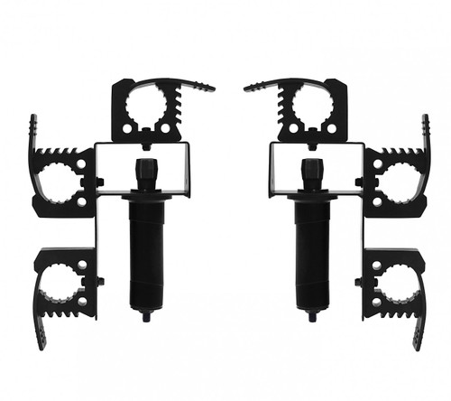 Polaris Ranger Twist Lock Triple Utility/Tool Holder