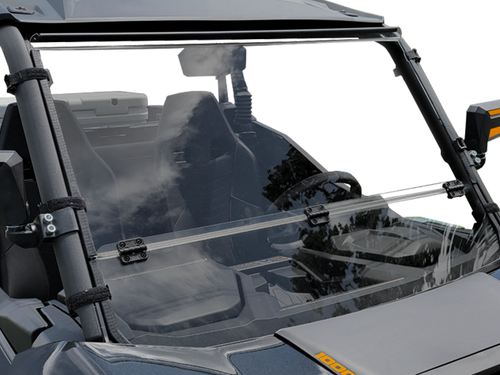 2021+ Can-Am Commander Scratch Resistant Folding Windshield