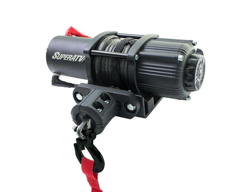 3500 Lb. Black Ops Winch (With Wireless Remote & Synthetic Rope)