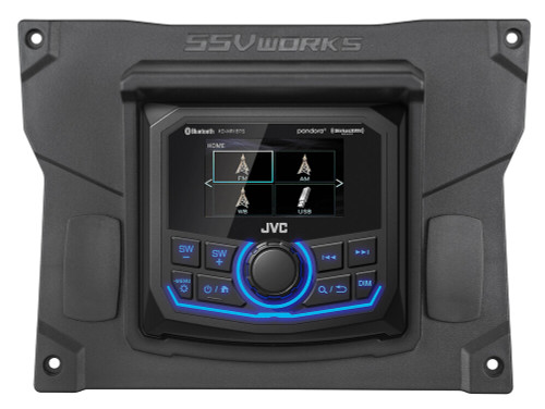 Kawasaki KRX 1000 JVC Media Receiver Plug-and-Play