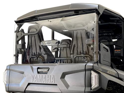 2021+ Yamaha Wolverine RMAX 4 Rear Windshield