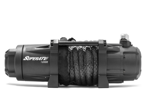 12,000 LB. Winch (With Wireless Remote and Synthetic Cable)