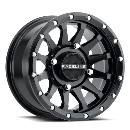 Raceline Trophy Simulated Beadlock Satin Black Wheel