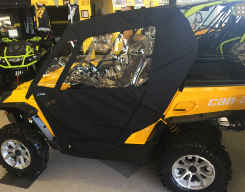 Can-Am Commander 2-Seat Side Enclosure