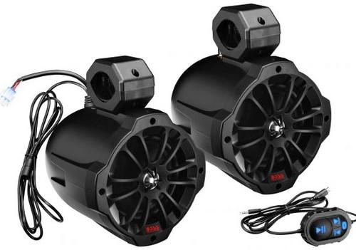 "Boss Audio Amplified Bluetooth 6.5"" Speaker Pods"