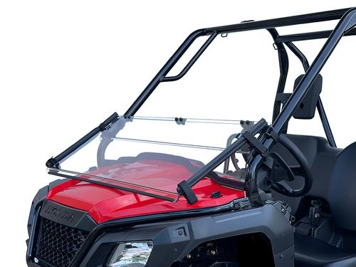 Honda Pioneer 500/520 Scratch Resistant Folding Windshield