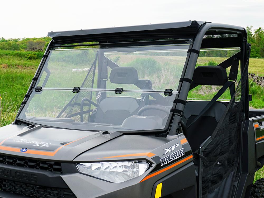 Polaris Ranger Windshield >> Polaris Ranger Xp 1000 Scratch Resistant Folding Windshield