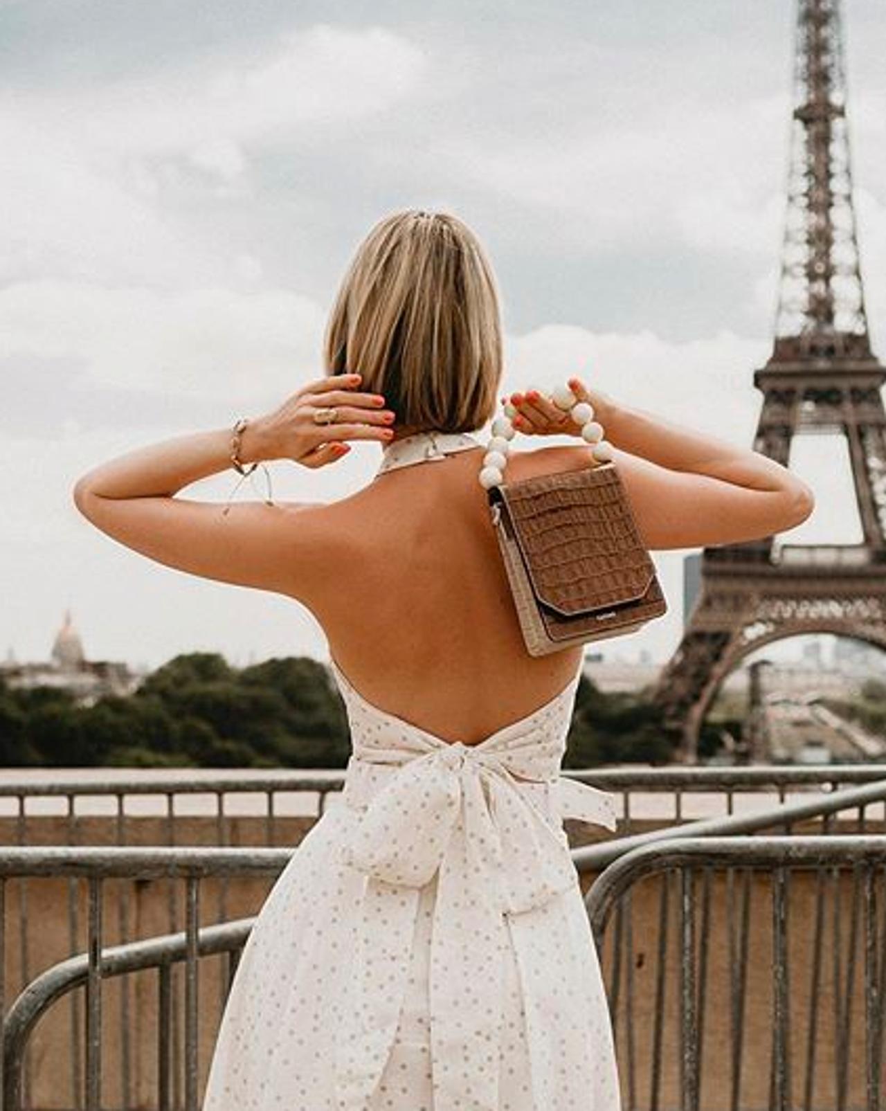 She said, take me to Paris