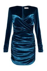 Aubrey Mini Dress Teal