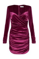 Aubrey Mini Dress Grape
