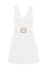 Clara Bustier Mini Dress Ivory