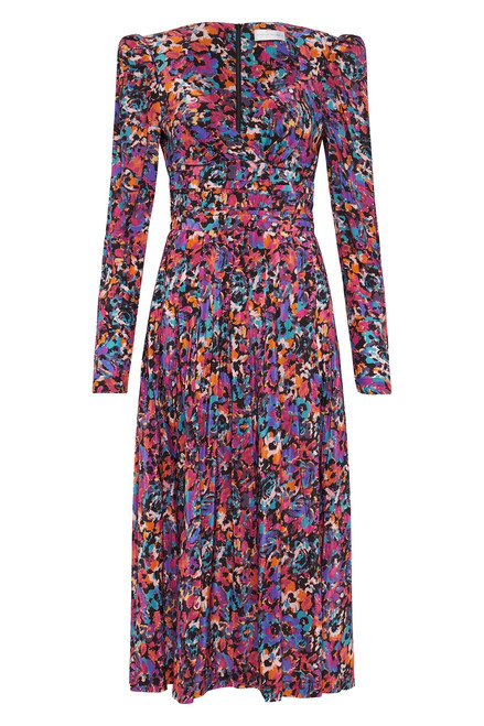 Modern Love Long Sleeve Midi Dress