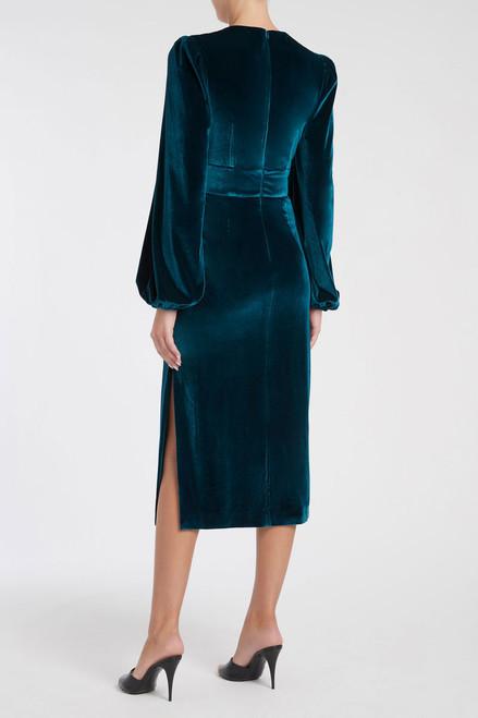 Aubrey Midi Dress Teal