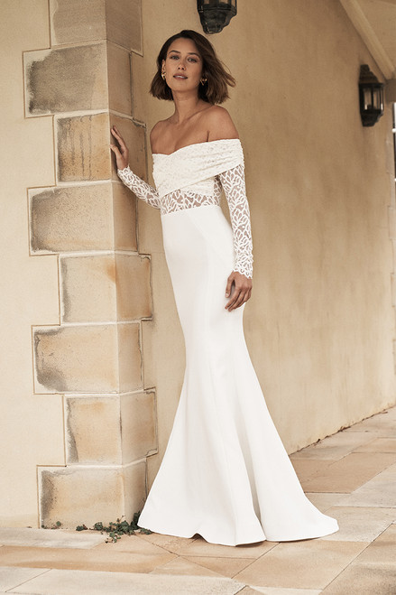 Mia Off the Shoulder Gown