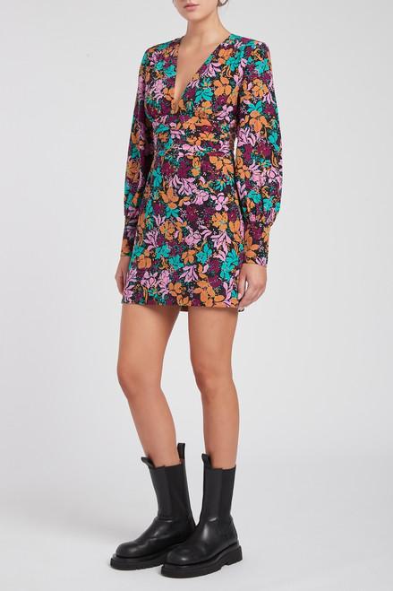 Le Marais V-Neck Mini Dress
