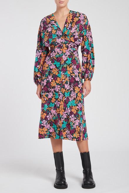 Le Marais Tie Midi Dress
