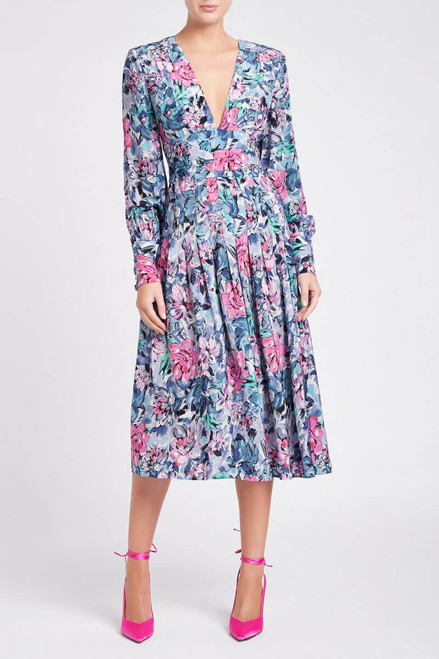 La Violette Midi Dress