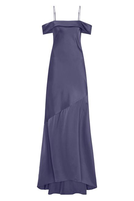 Olivia Slip Gown Navy
