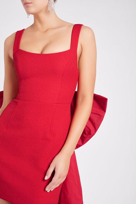 Calla Mini Dress Red