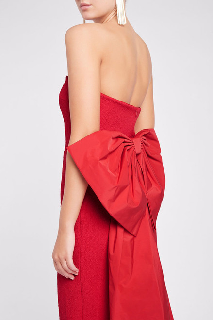 Calla Gown Red