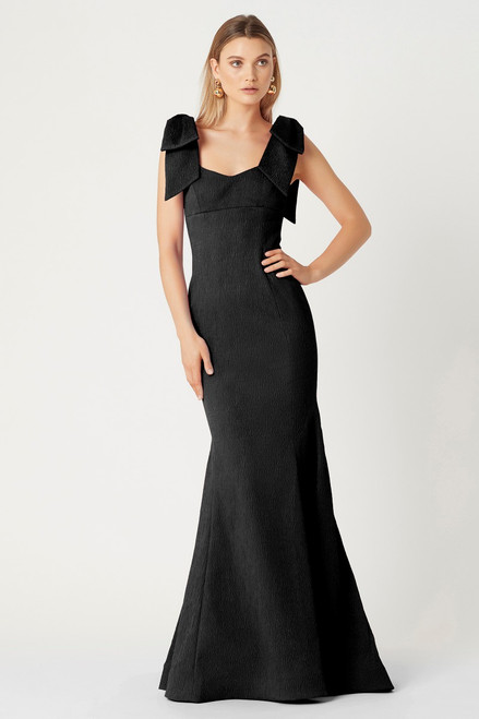 Martini Bow Gown Black