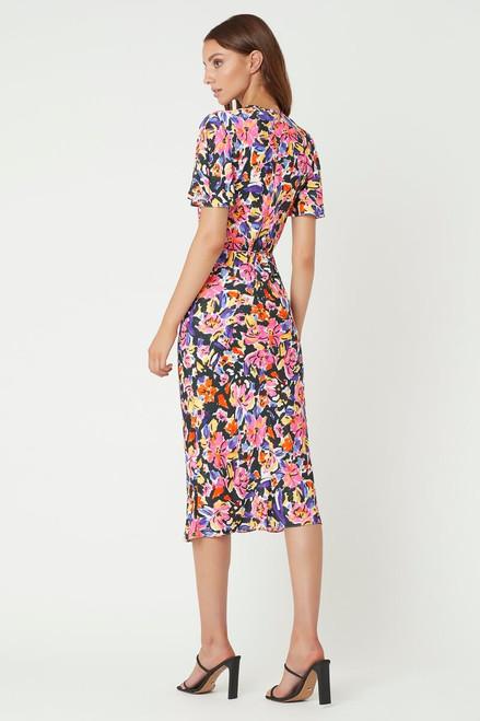 Soho Short Sleeve Midi Dress