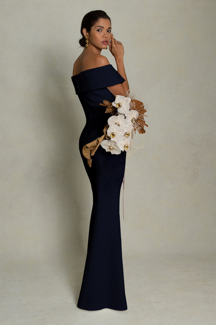 Venice Gown Navy