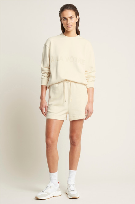 Terry Shorts Ivory