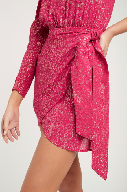 Valencia One Sleeve Mini Dress