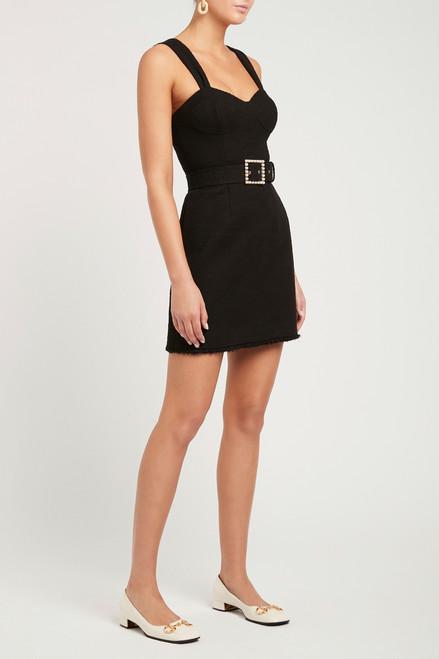 Clara Bustier Mini Dress Black