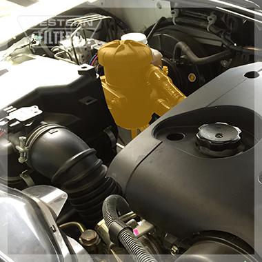Provent Installation in Mitsubishi Triton ML MN Di-D Western Filters